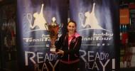 Jovana Peric entzaubert große Titelfavoritin